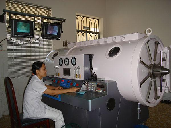 Ưu việt của phương pháp điều trị Oxy Cao áp