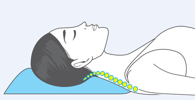 Tư thế nằm ngủ tránh được đau bệnh