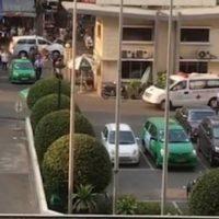 Xe cảnh sát hộ tống quả tim từ sân bay về bệnh viện ghép cho bệnh nhân